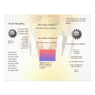 Healing Hands Massage Flyers
