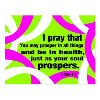 Healing & Prosperity Postcard