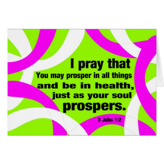 Health and Prospers Card
