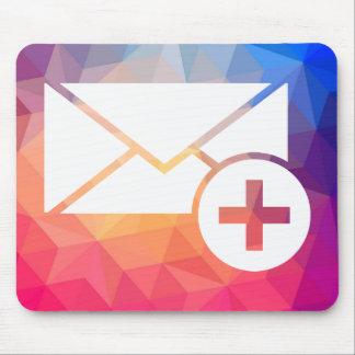 Health Envelopes Pictogram Mouse Pad