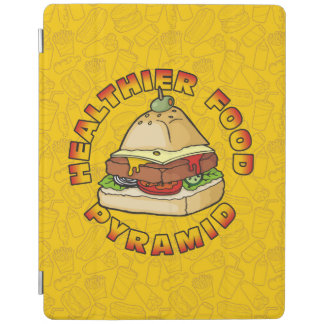 Healthier Food Pyramid iPad Cover