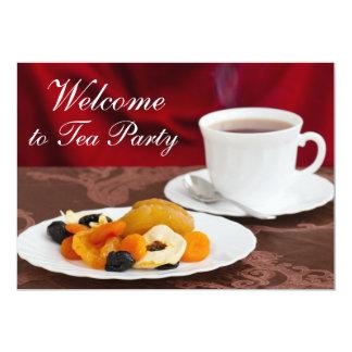 Healthy breakfast 13 cm x 18 cm invitation card
