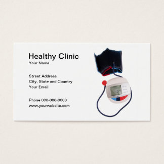 Healthy Clinic Business Card