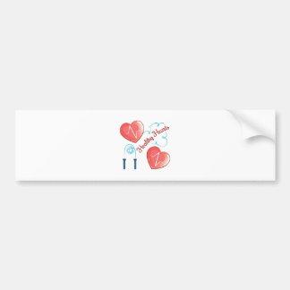 Healthy Hearts Bumper Sticker
