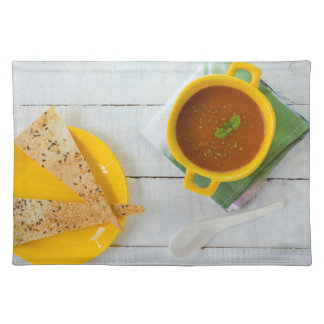 Healthy snack placemat