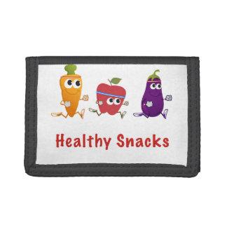 Healthy Snacks Tri-fold Wallet