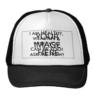 HEALTHY, WEALTHY & WISE MESH HATS