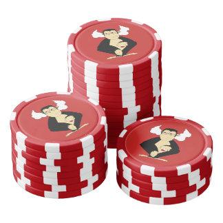 Hear No Evil Poker Chips