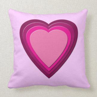 Heart 5 pillow