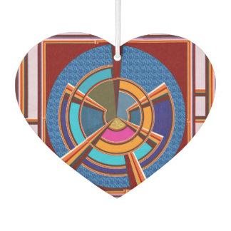 Heart Air Freshener Happy Graphics by NavinJoshi