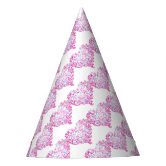 Heart and Dove Party Hat