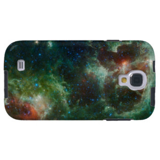Heart and Soul nebulae infrared mosaic NASA Galaxy S4 Case