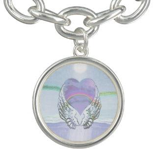 Heart, Angel Wings & Ocean