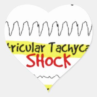 Heart attire heart sticker