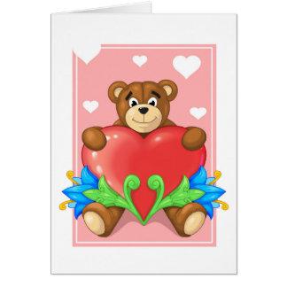 heart Bear Cards