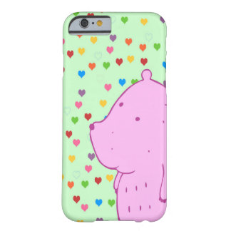 Heart Bear Barely There iPhone 6 Case