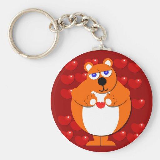 HEART BEAR Keychain
