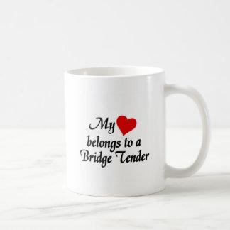 Heart belongs to a Bridge Tender Coffee Mug