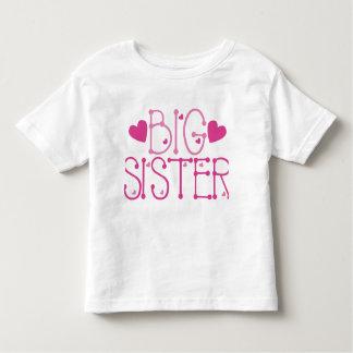 Heart Big Sister Toddler T-Shirt