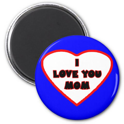 Heart Blue Transp Filled The MUSEUM Zazzle Gifts Fridge Magnets