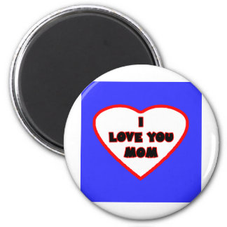 Heart Bright Blue Transp Filled The MUSEUM Zazzle Fridge Magnets