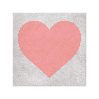 Heart Canvas Print 12X12, 24X24