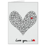 Heart Card, Valentine's Day Card