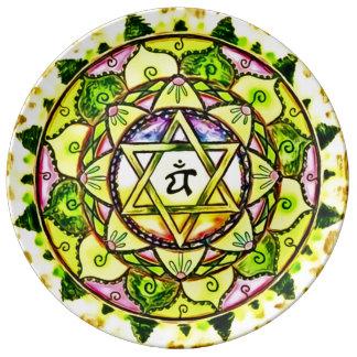 Heart Chakra Mandala Plate