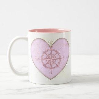Heart Compass Mug