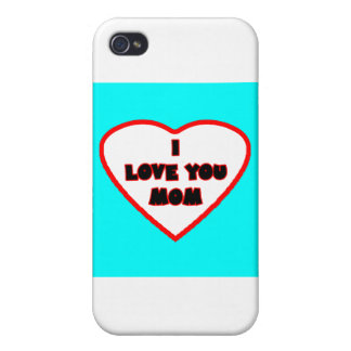 Heart Cyan Transp Filled The MUSEUM Zazzle Gifts Case For iPhone 4
