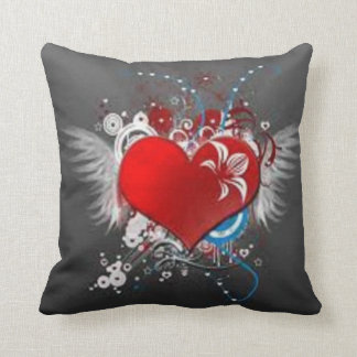heart-flower cushions