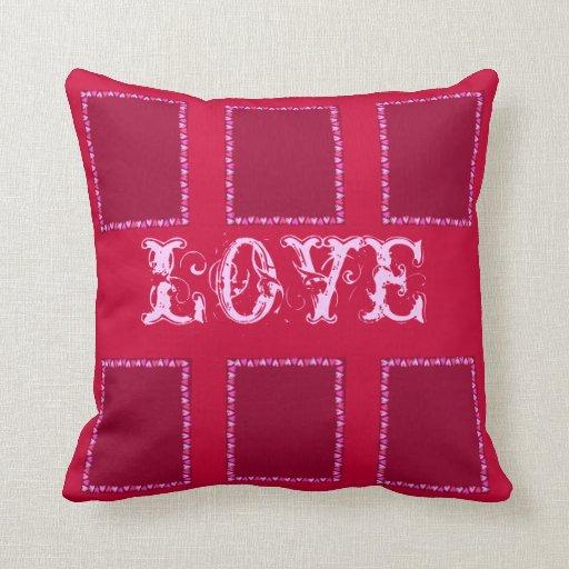 Heart Frame Pillows