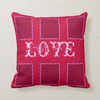 Heart Frame Throw Pillow