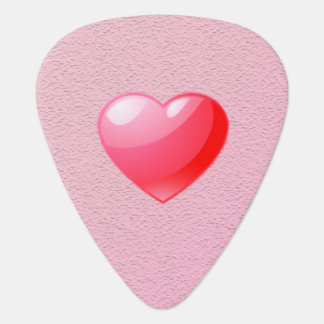 Heart Guitar Pick