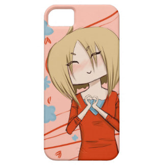 Heart Hands Chibi Phone Case