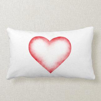 Heart Haze Throw Pillow