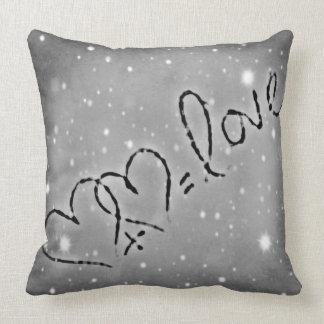 Heart + Heart = love Throw Cushions