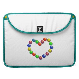 Heart MacBook Pro Sleeves