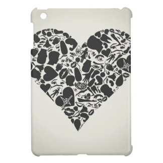 Heart of a part of a body iPad mini cover
