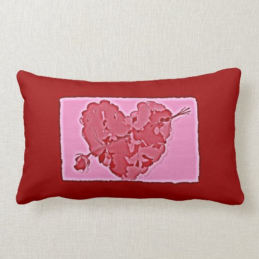 Heart of Roses Pillows