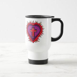 Heart of The Christian Travel Mug