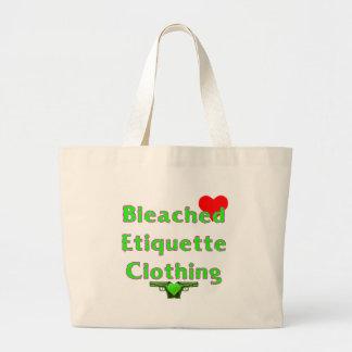 Heart on your Ed... Jumbo Tote Bag