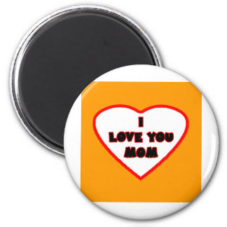 Heart Orange Bright Transp Filled The MUSEUM Zazzl Magnet