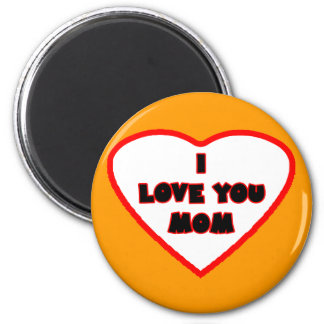 Heart Orange Transp Filled The MUSEUM Zazzle Gifts Fridge Magnet