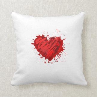 heart pillow throw cushions