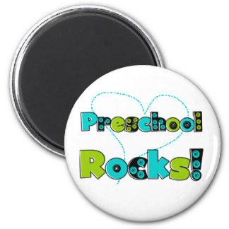 Heart Preschool Rocks Magnet