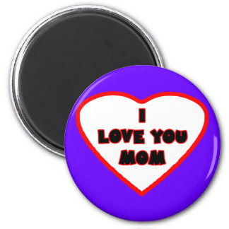 Heart Purple Blue Transp Filled The MUSEUM Zazzle Refrigerator Magnets