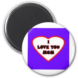 Heart Purple Blue Transp Filled The MUSEUM Zazzle Fridge Magnets