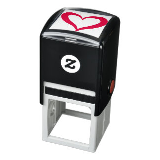 Heart Self-inking Stamp