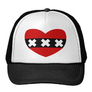 Heart Shaped Flag of Amsterdam Cap